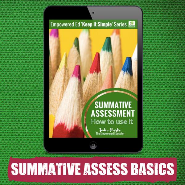 Summative Assess Basics