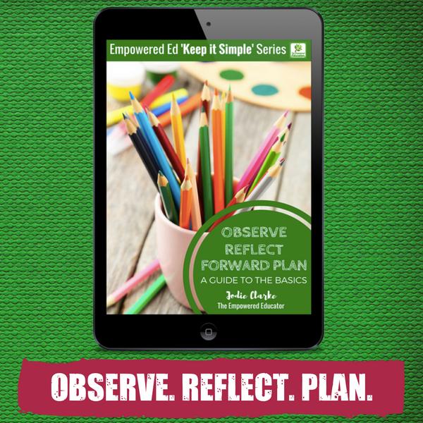 Observe Reflect Plan