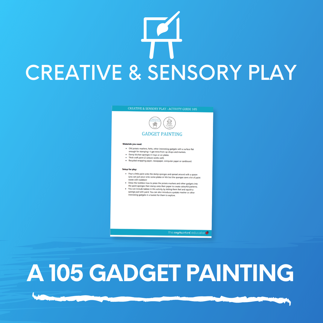 A 105 Gadget Painting