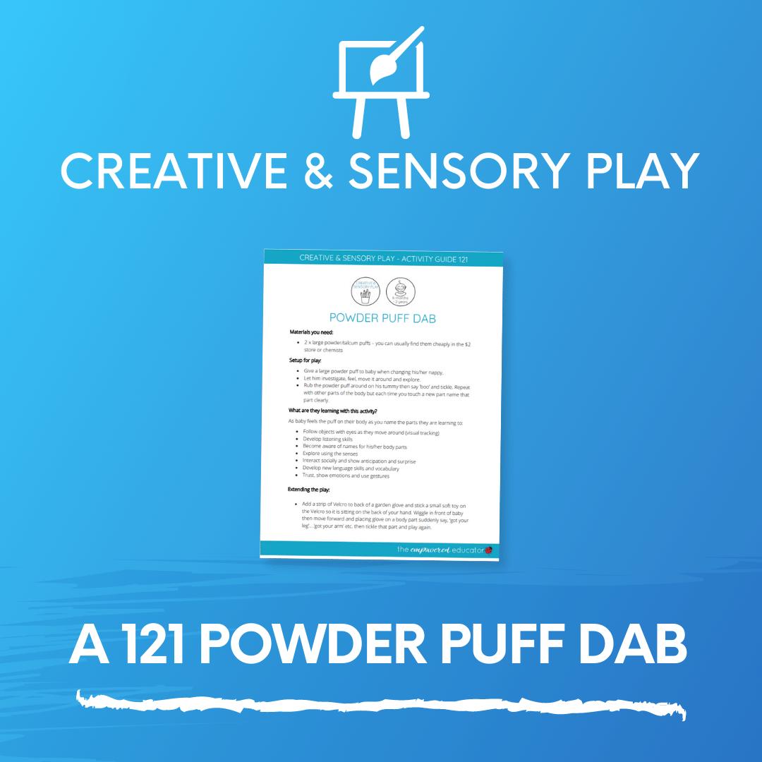 A 121 Powder Puff Dab