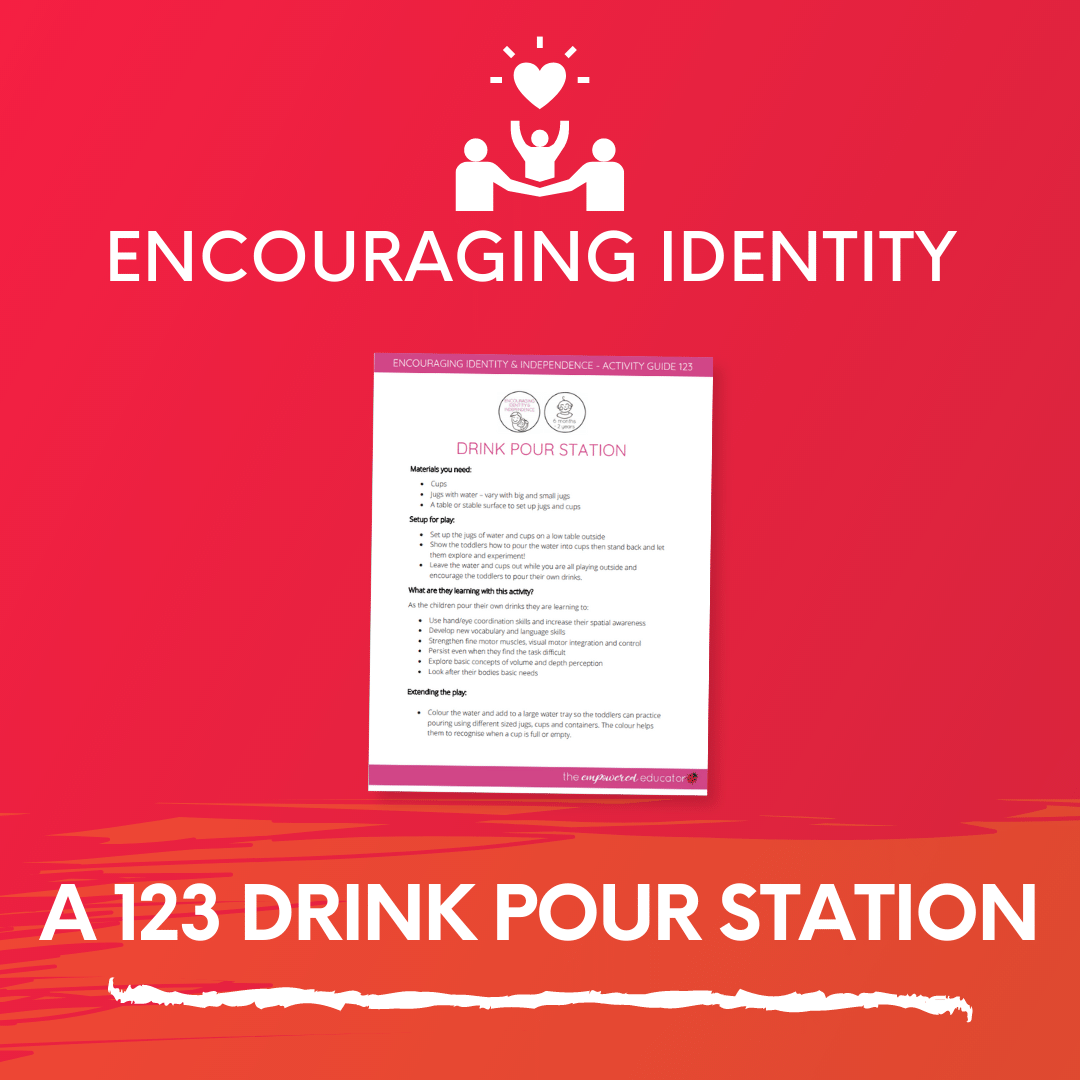 A 123 Drink Pour Station
