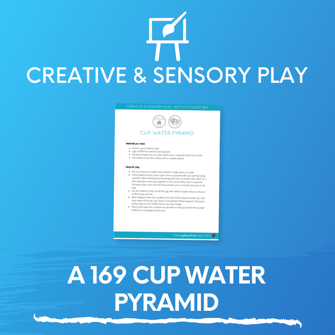 A 169 Cup Water Pyramid
