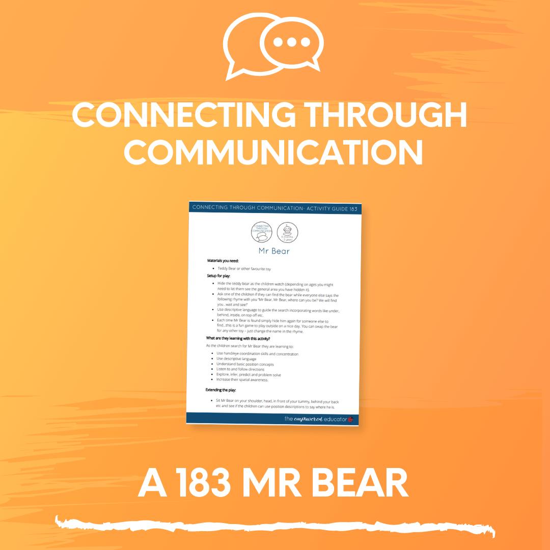 A 183 Mr Bear