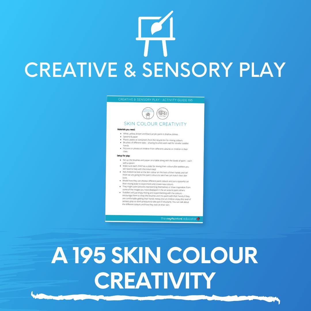 A 195 Skin Colour Creativity