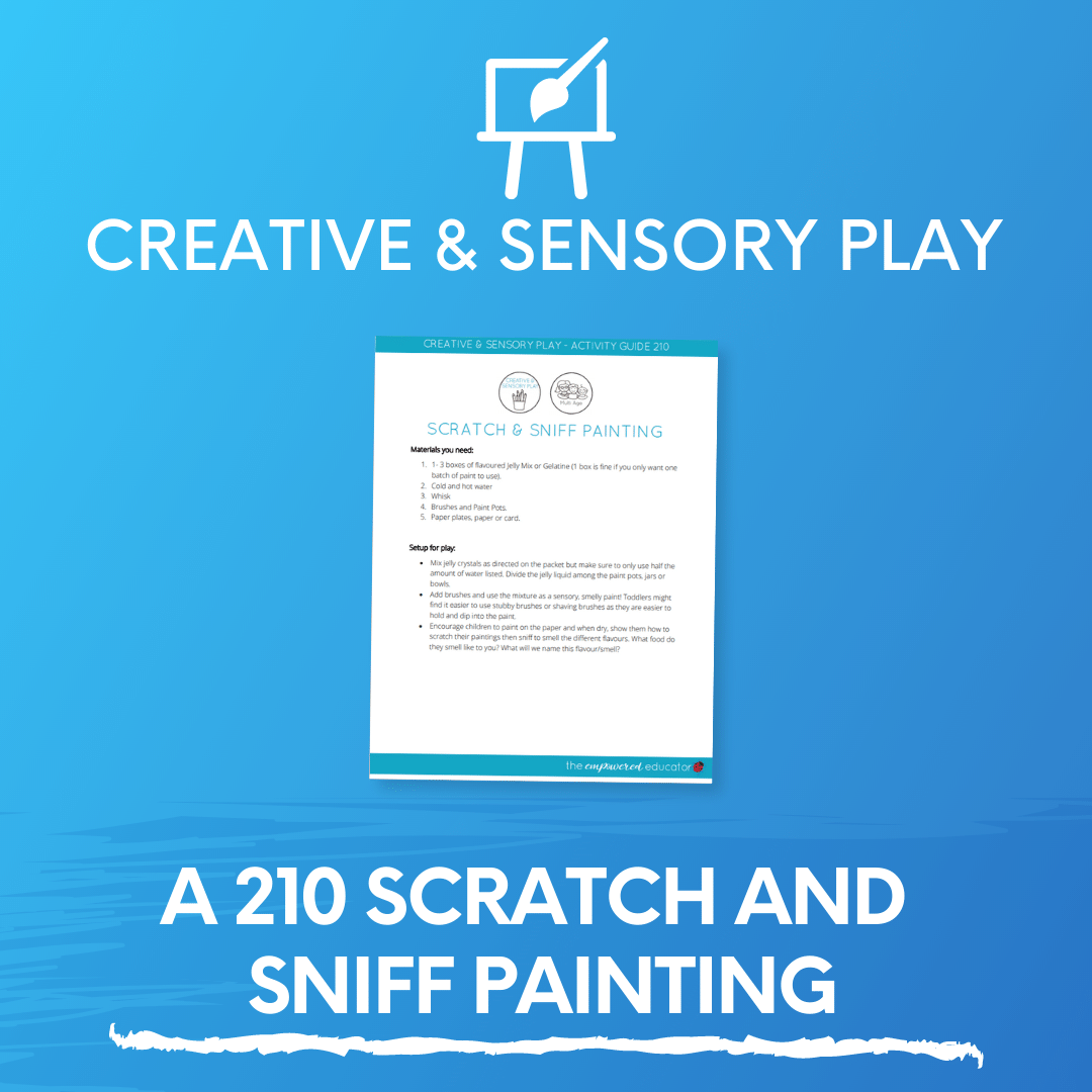 A 210 Scratch and Sniff Painting