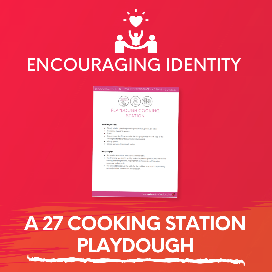 A 27 Cooking Station Playdough