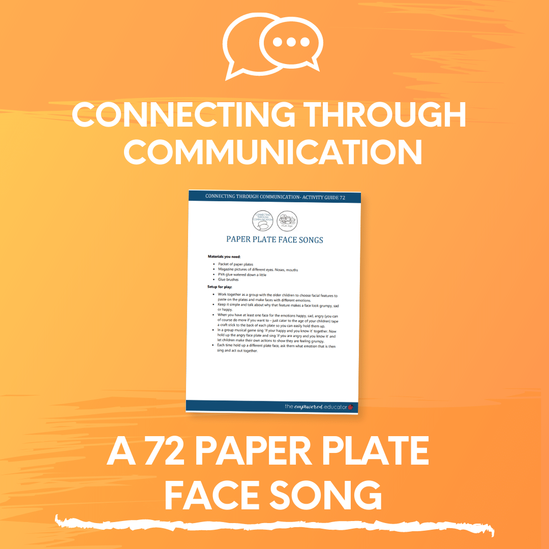 A 72 Paper Plate Face song
