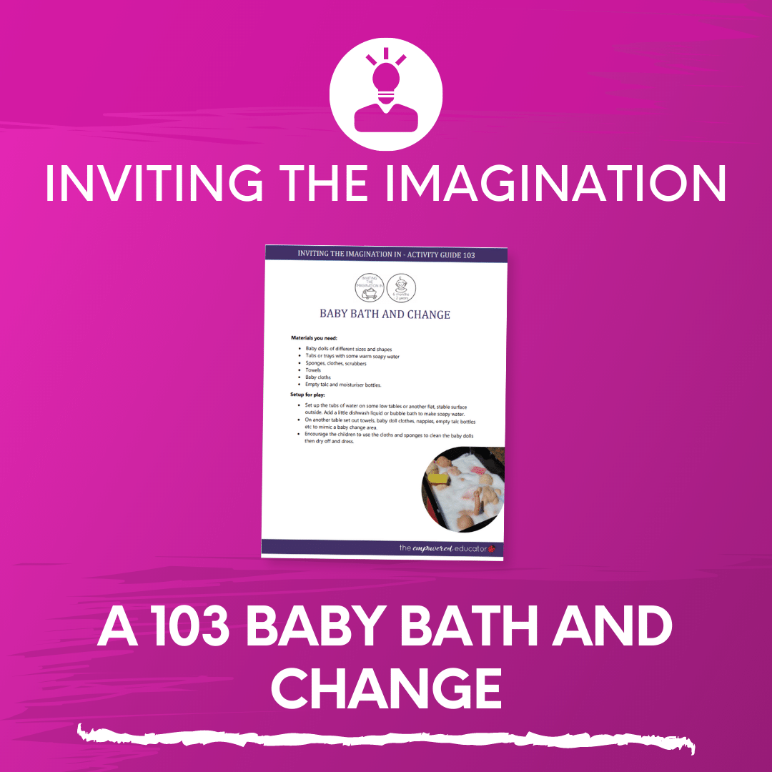 A 103 Baby Bath and Change