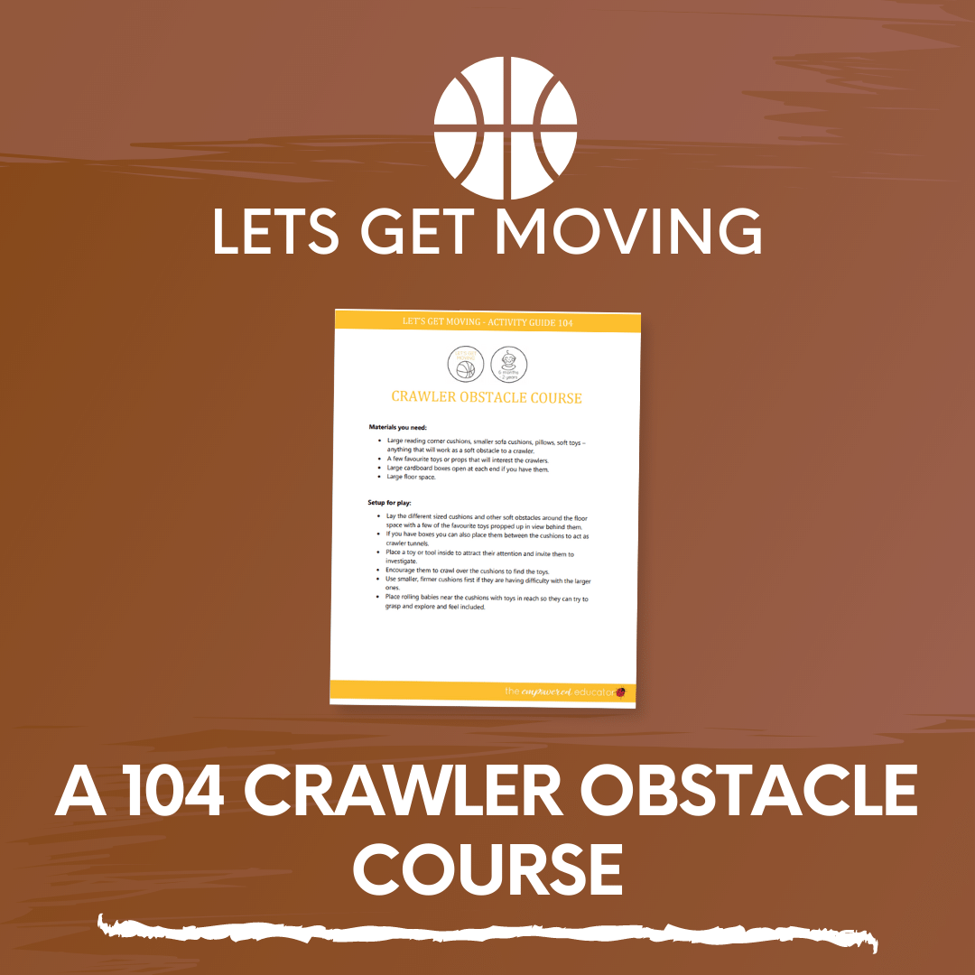A 104 Crawler Obstacle Course