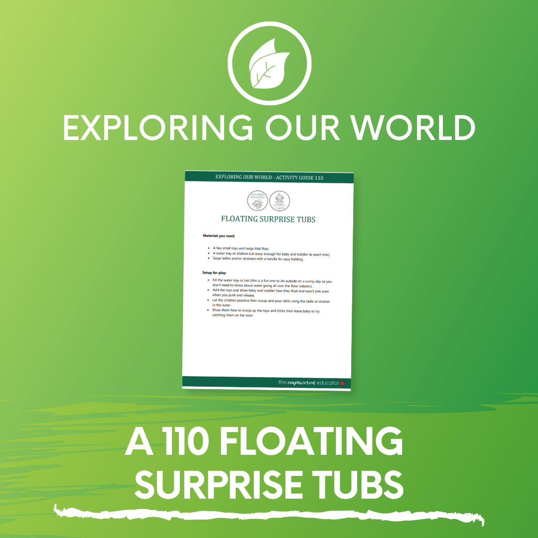 A 110 Floating Surprise Tubs