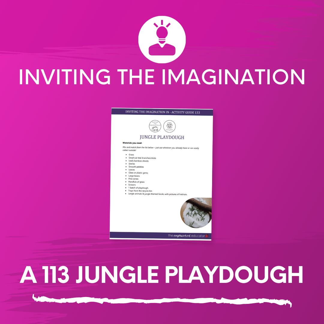 A 113 Jungle Playdough