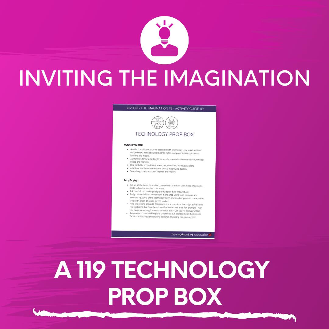 A 119 Technology Prop Box