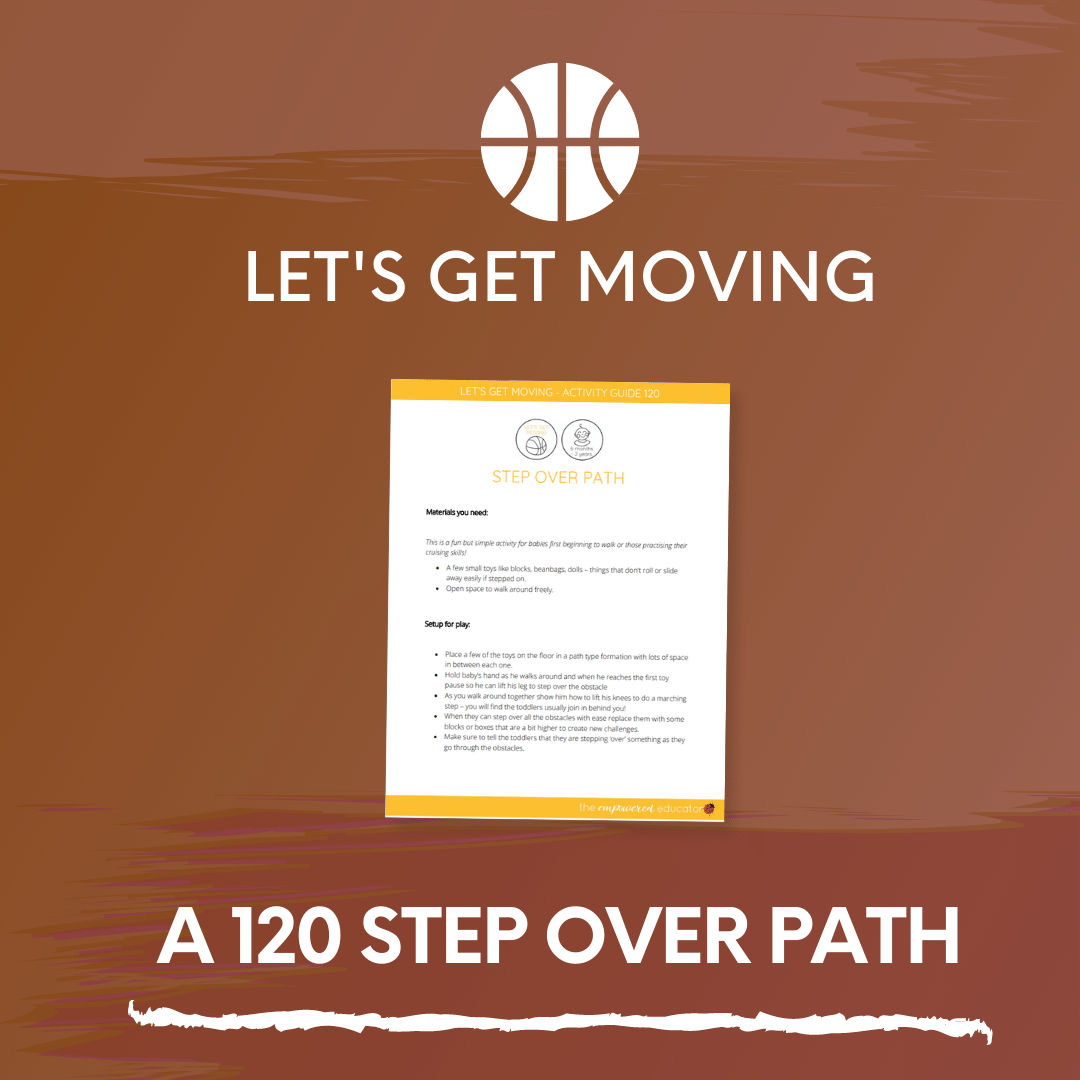 A 120 Step Over Path