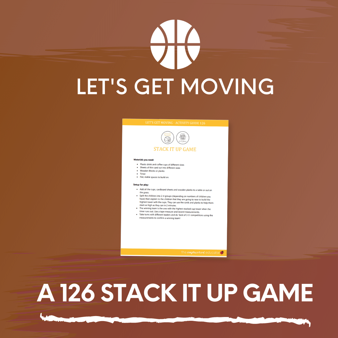 A 126 Stack it up Game