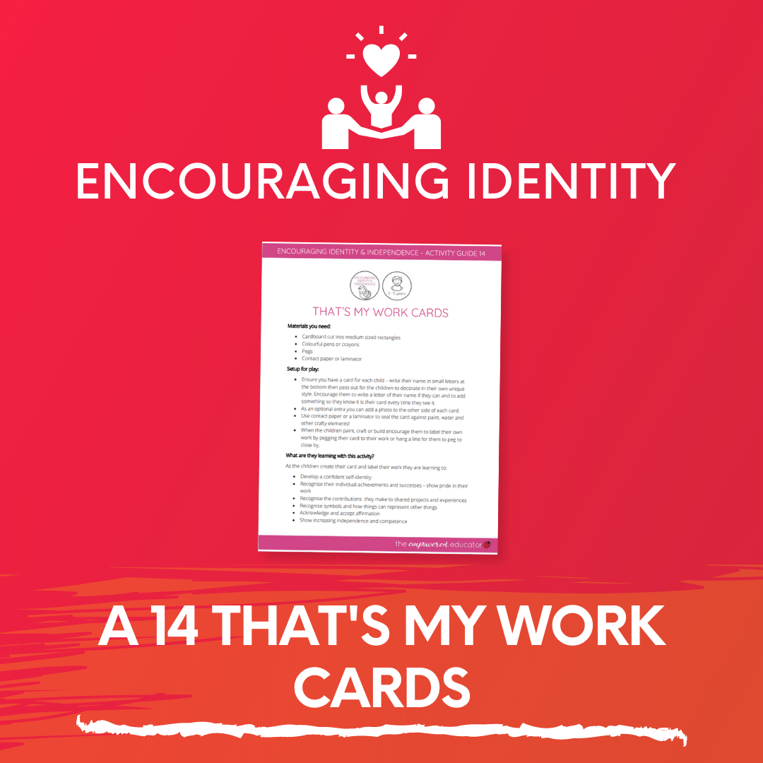 A 14 That's My Work Cards