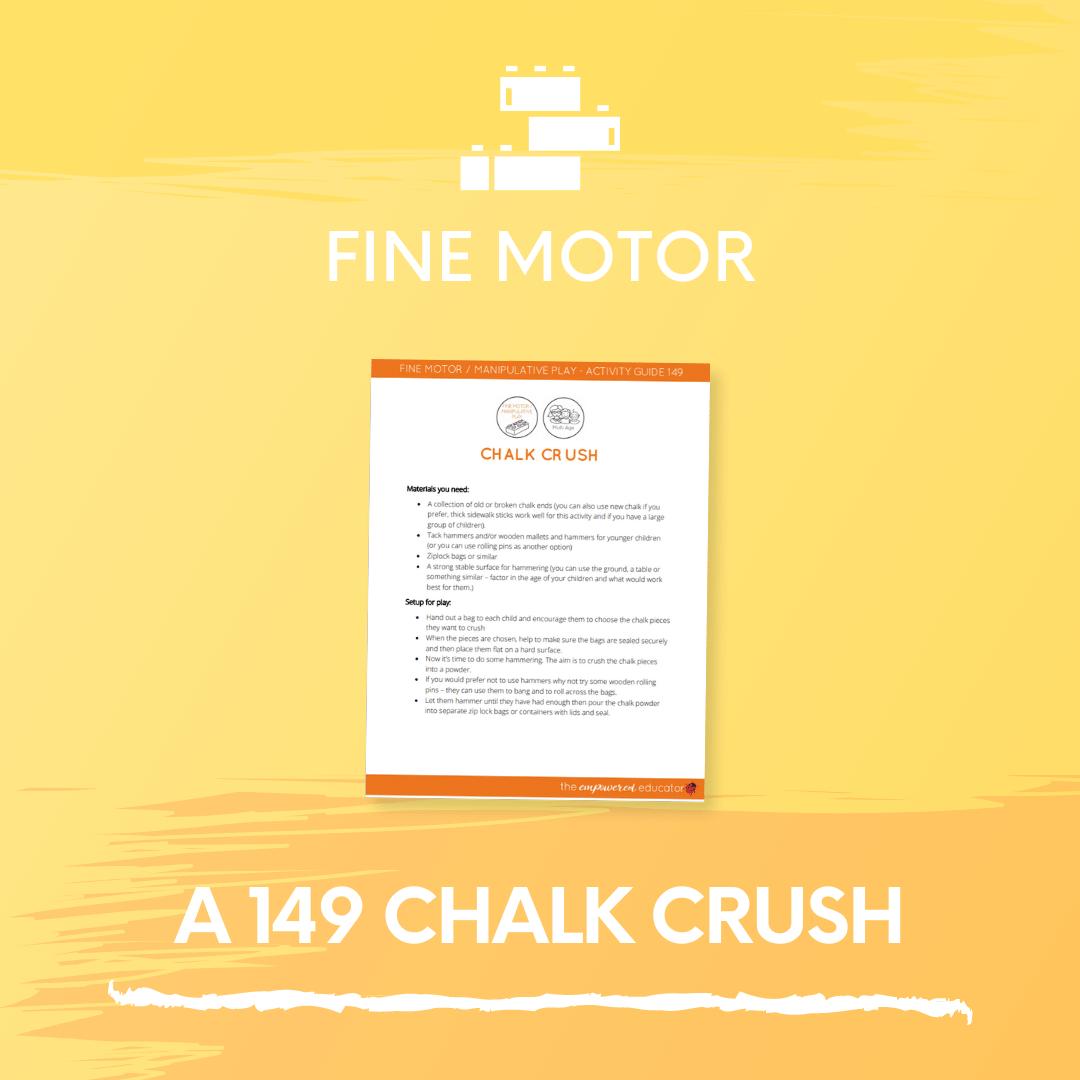 A 149 Chalk Crush 2