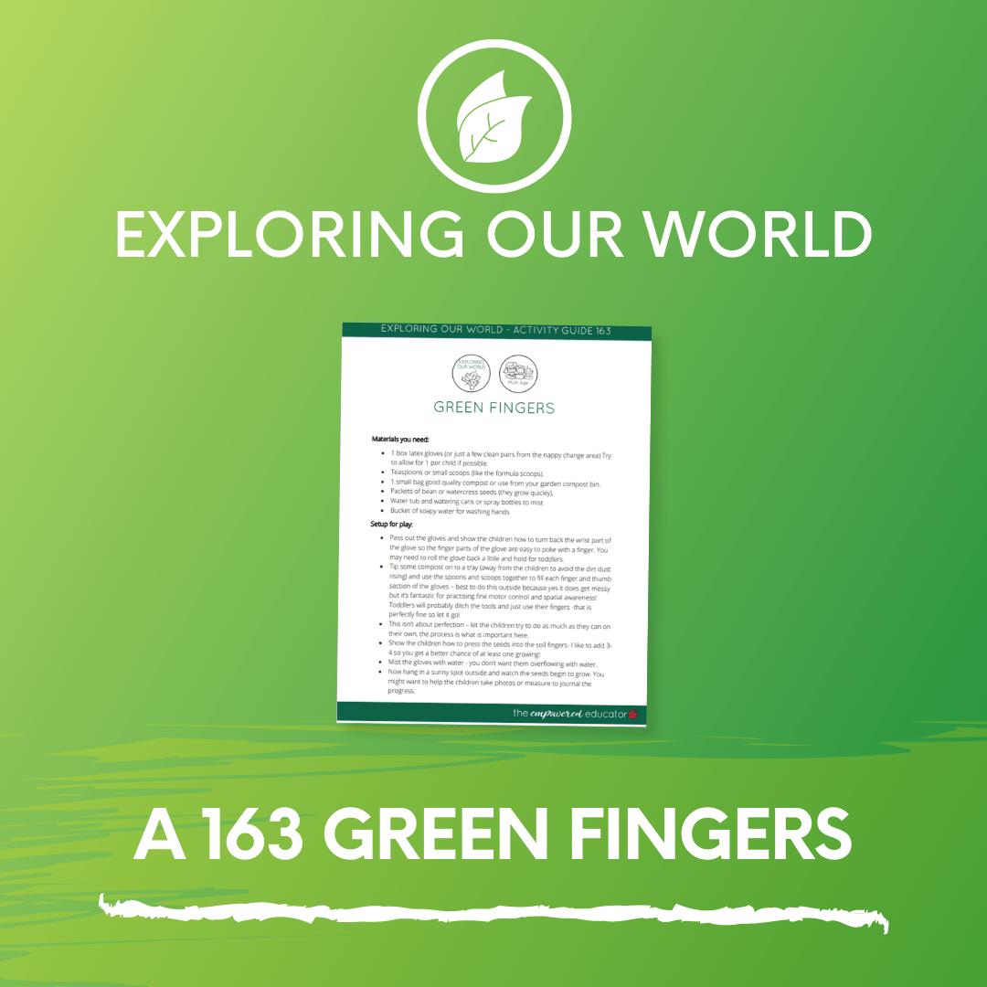 A 163 Green Fingers