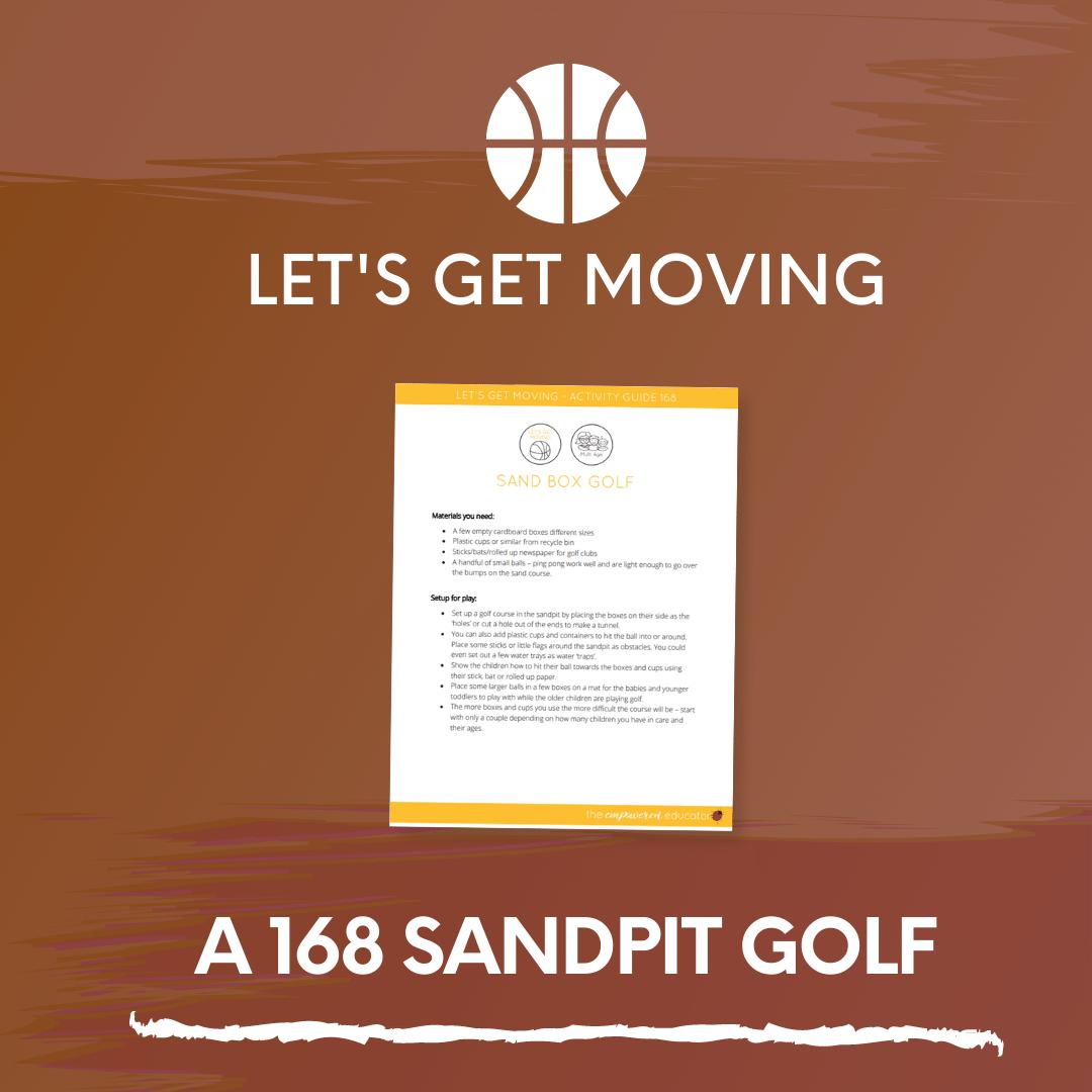 A 168 Sandpit Golf