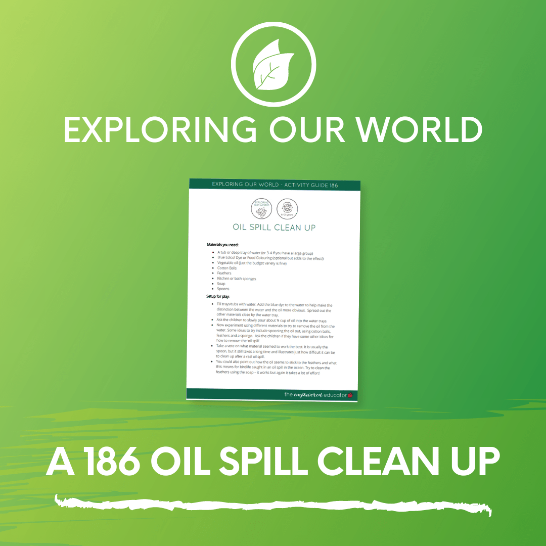 A 186 Oil Spill Clean Up