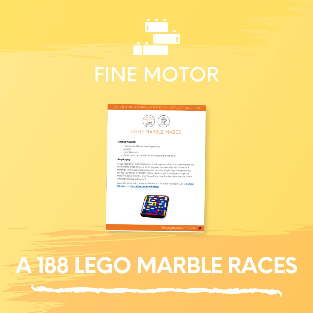 A 188 Lego Marble Races 2