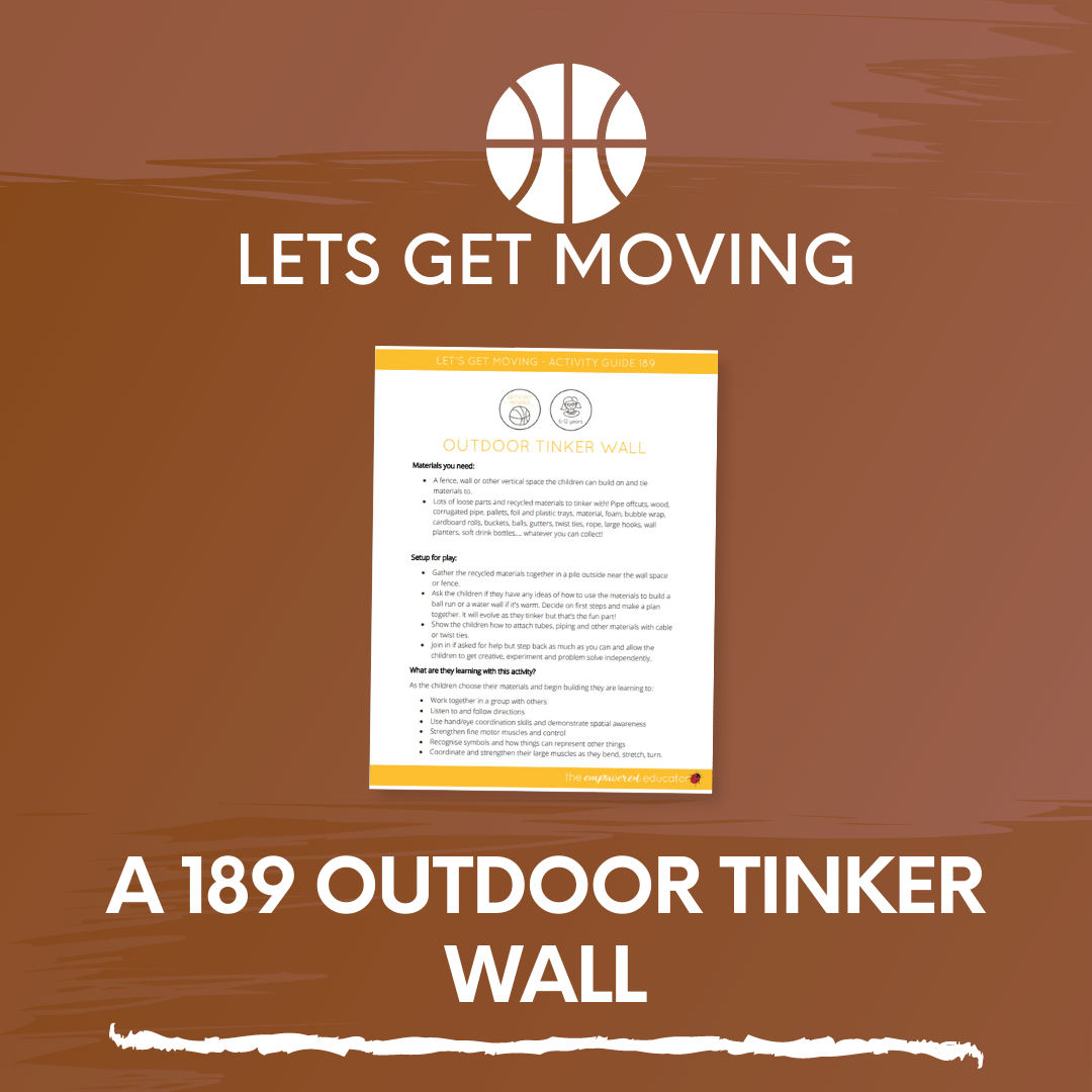 A 189 Outdoor Tinker Wall