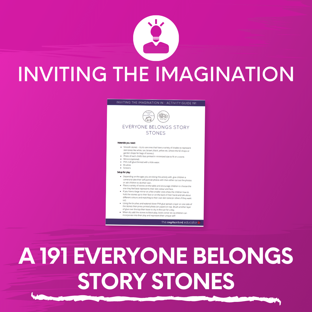 A 191 Everyone Belongs Story Stones