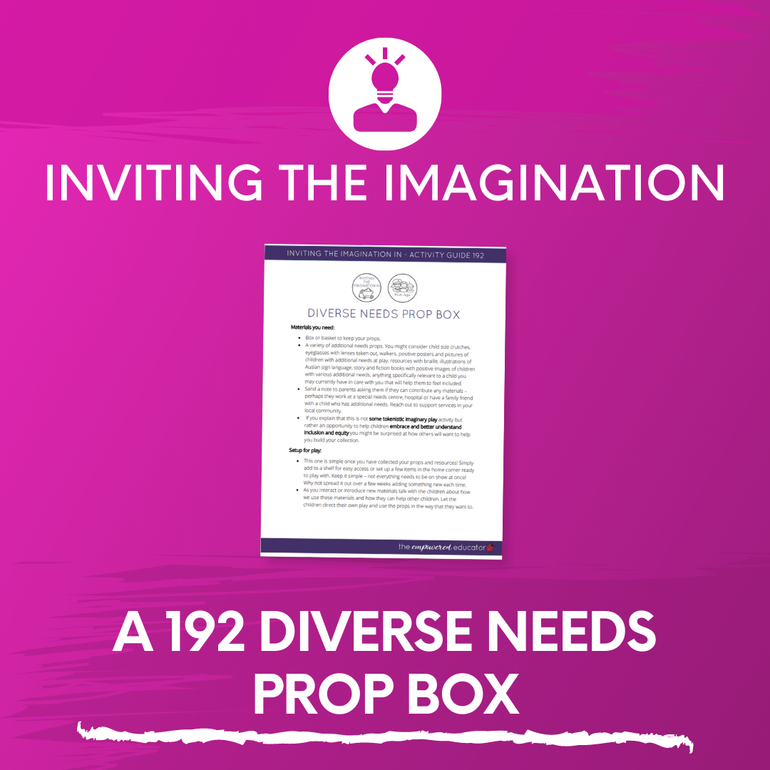 A 192 Diverse Needs Prop Box