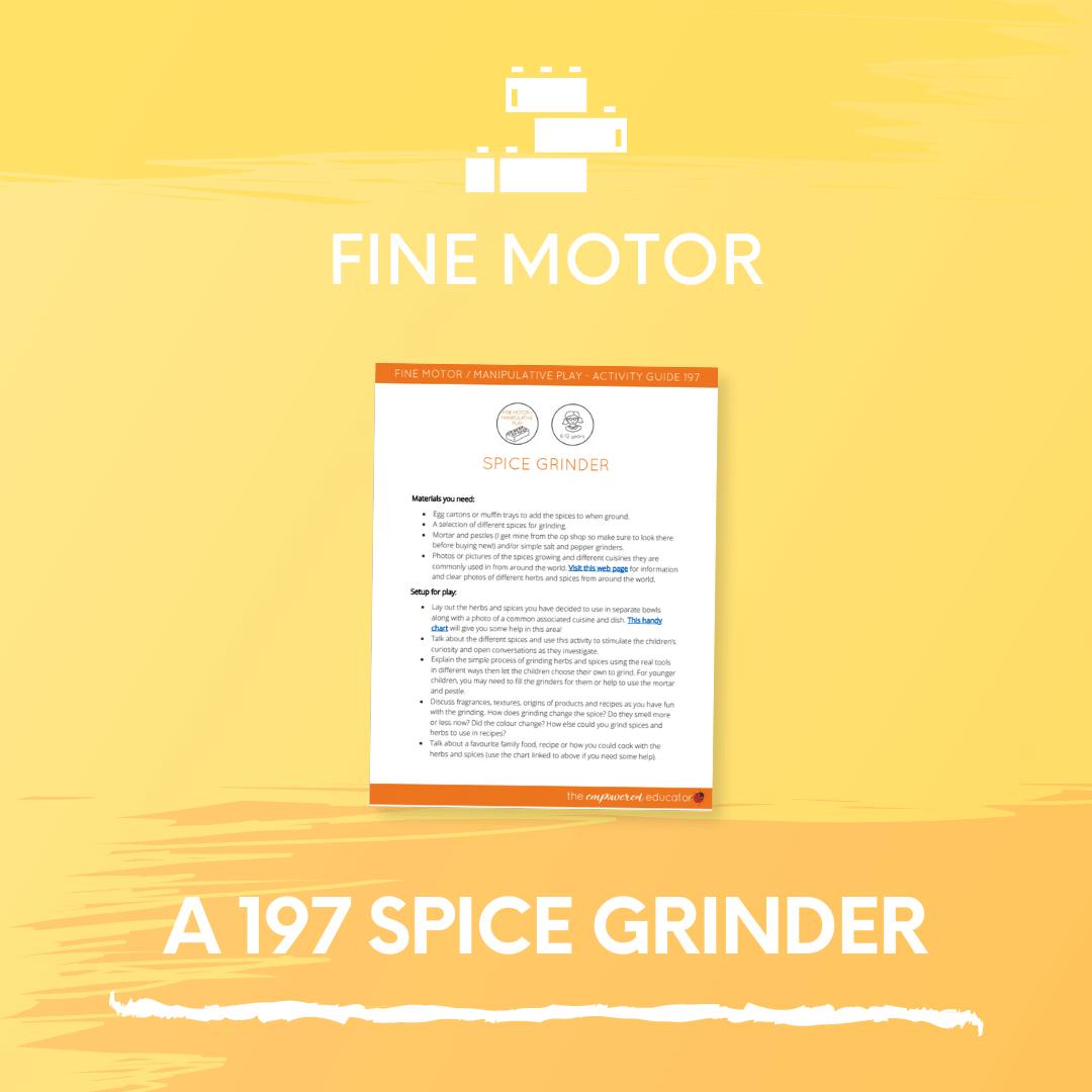 A 197 Spice Grinder 2