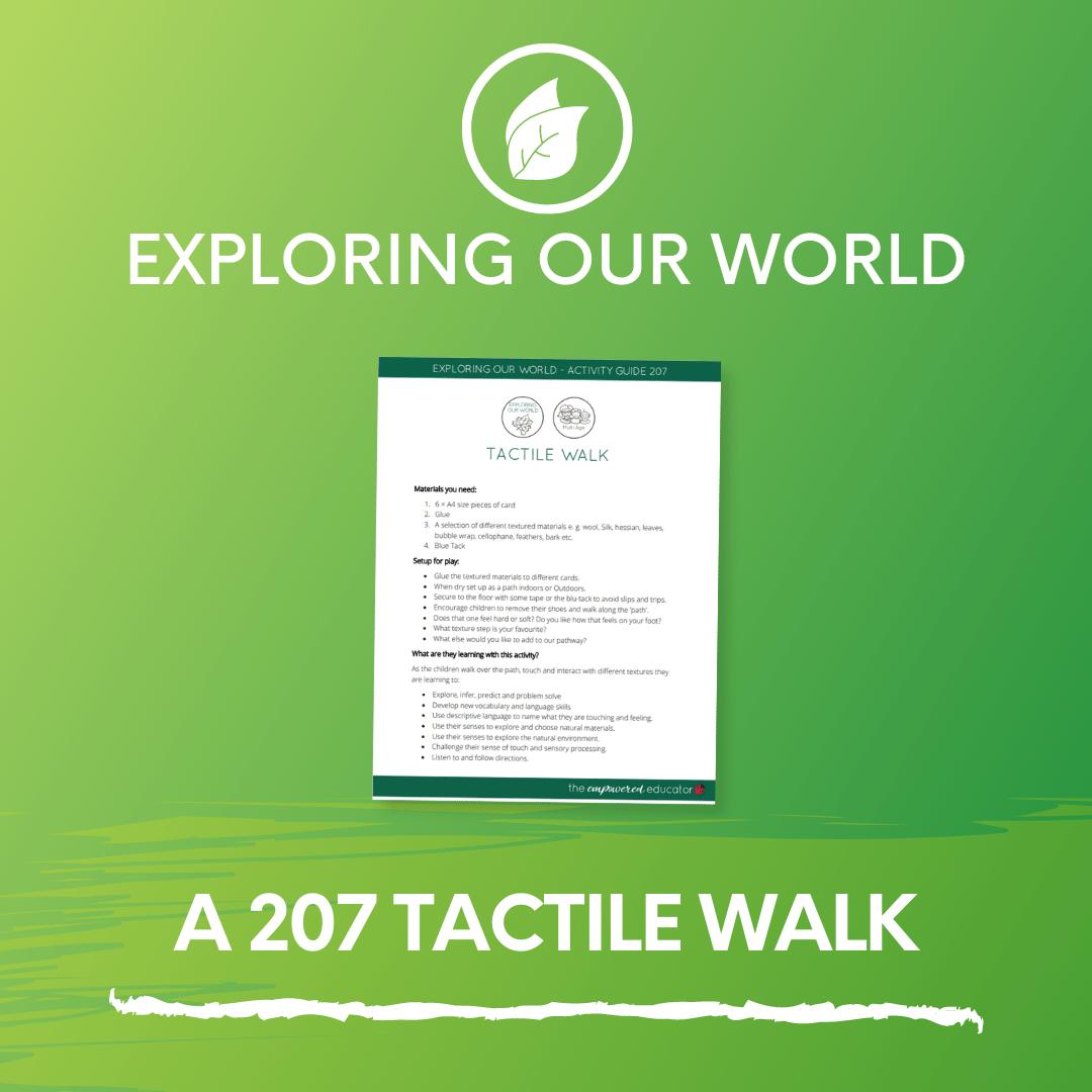 A 207 Tactile Walk