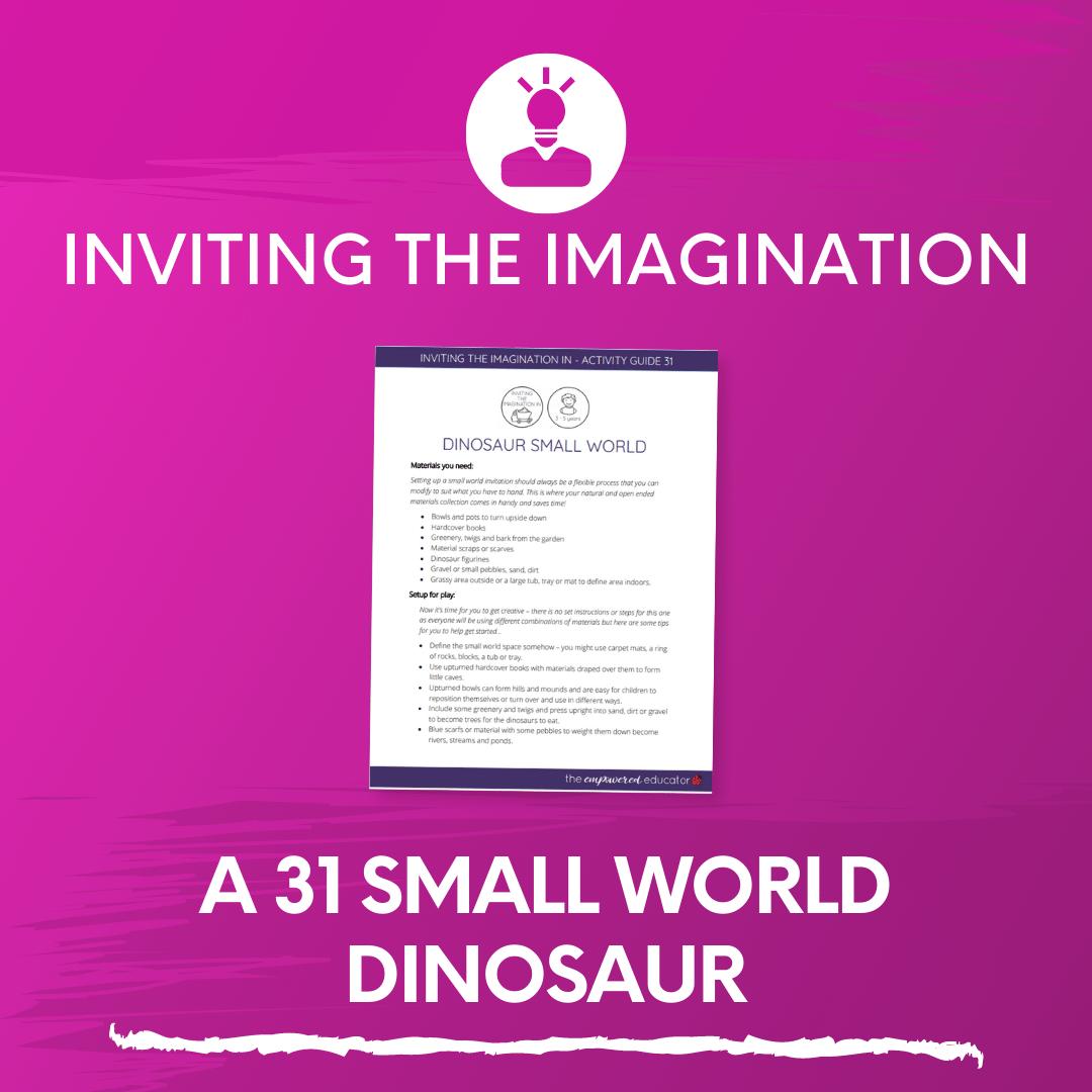 A 31 Small World Dinosaur
