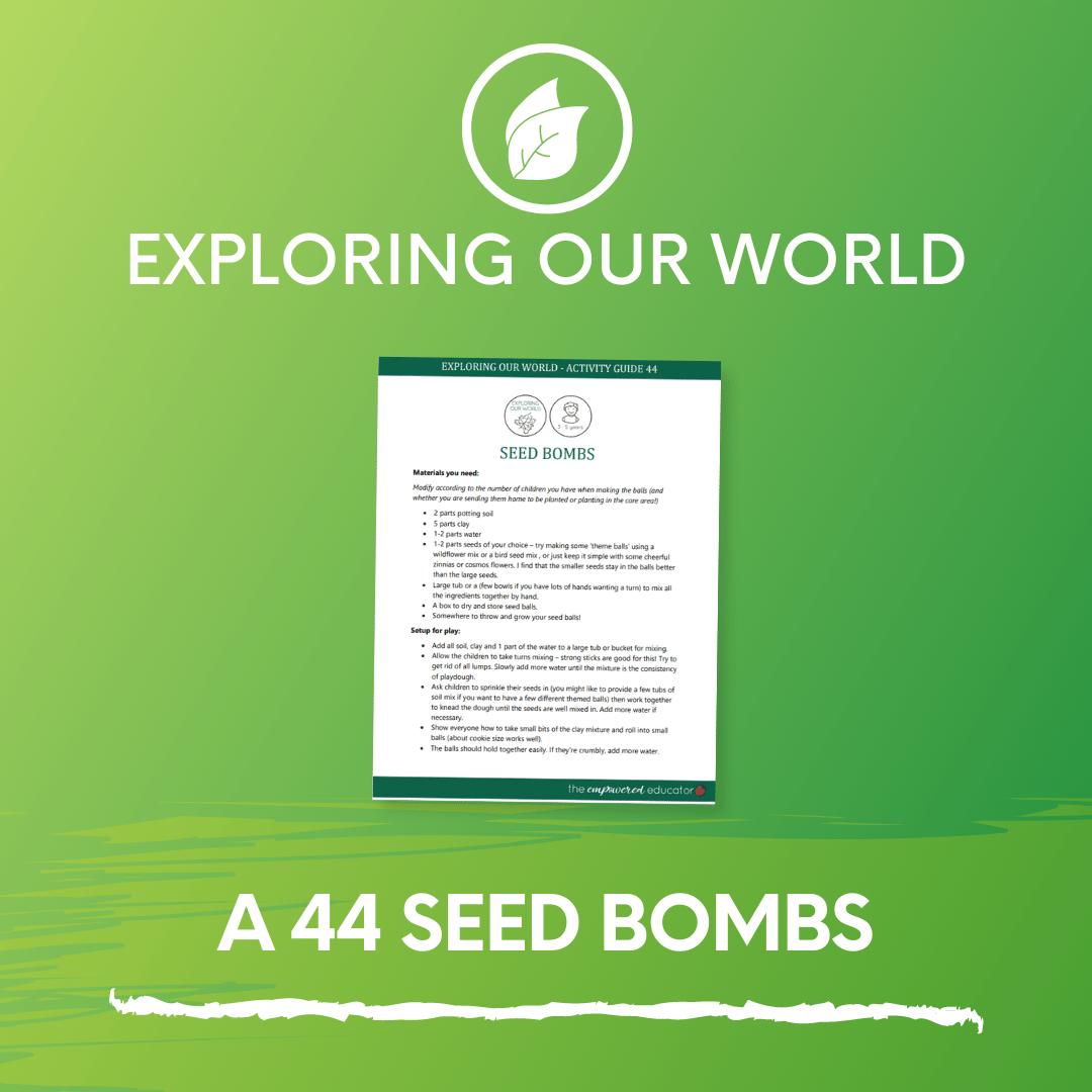 A 44 Seed Bombs