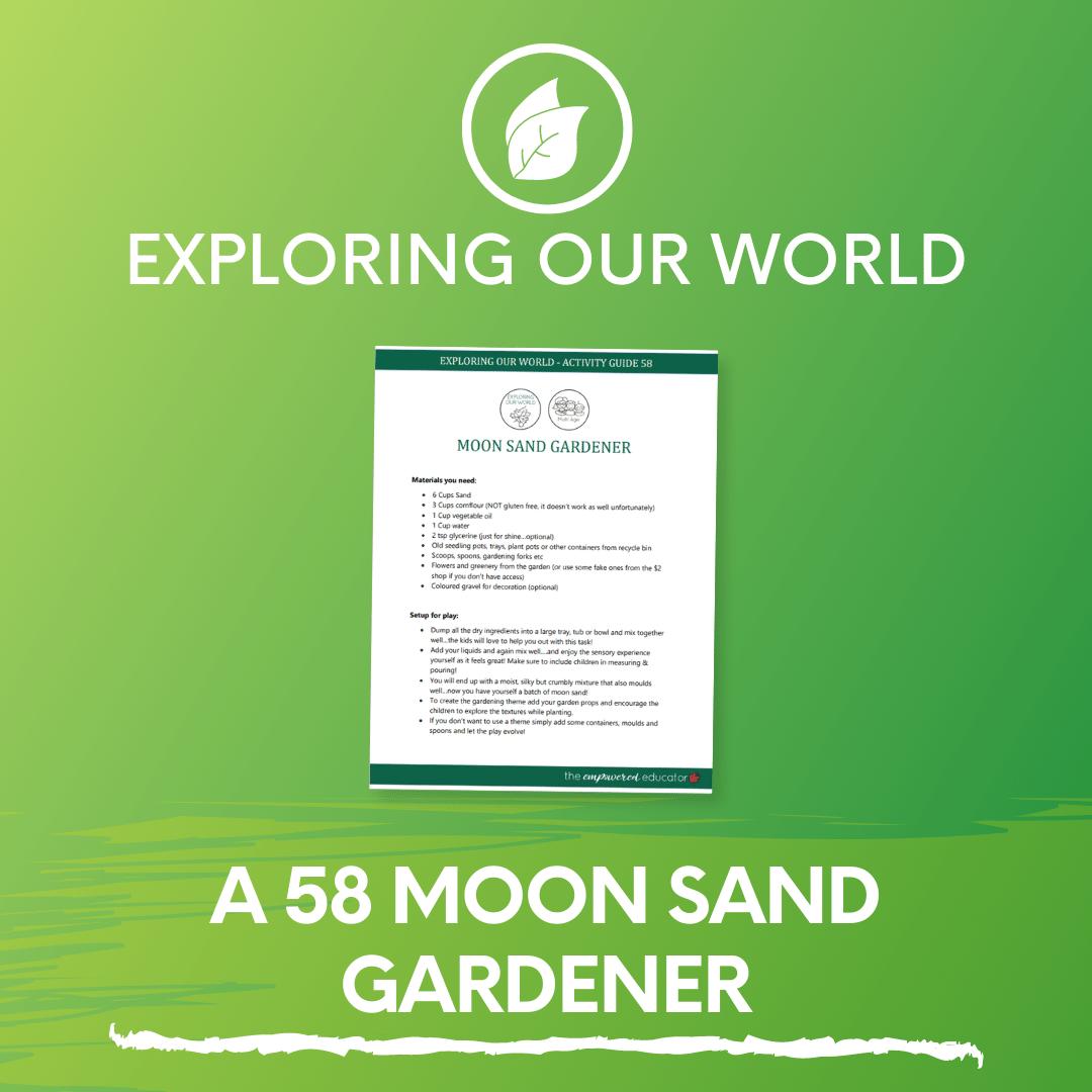 A 58 Moon Sand Gardener