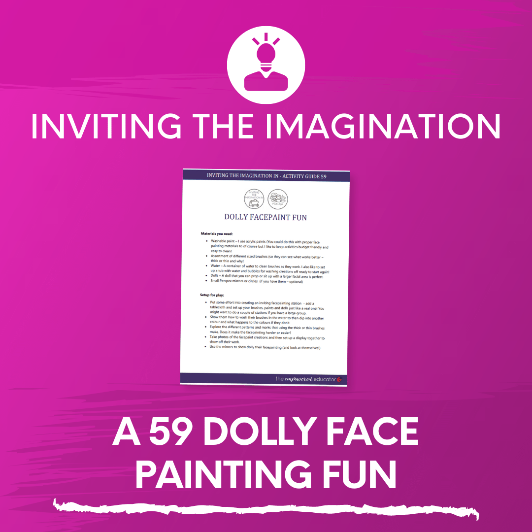 A 59 Dolly Face Painting Fun