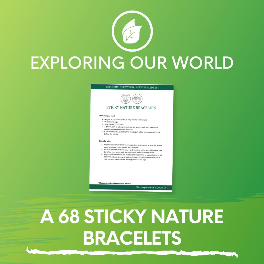 A 68 Sticky Nature Bracelets