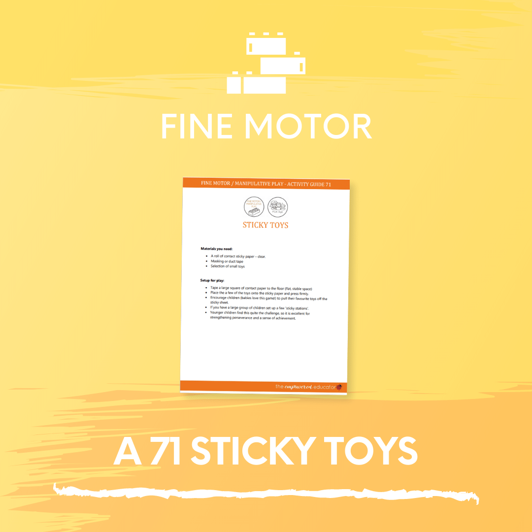 A 71 Sticky Toys