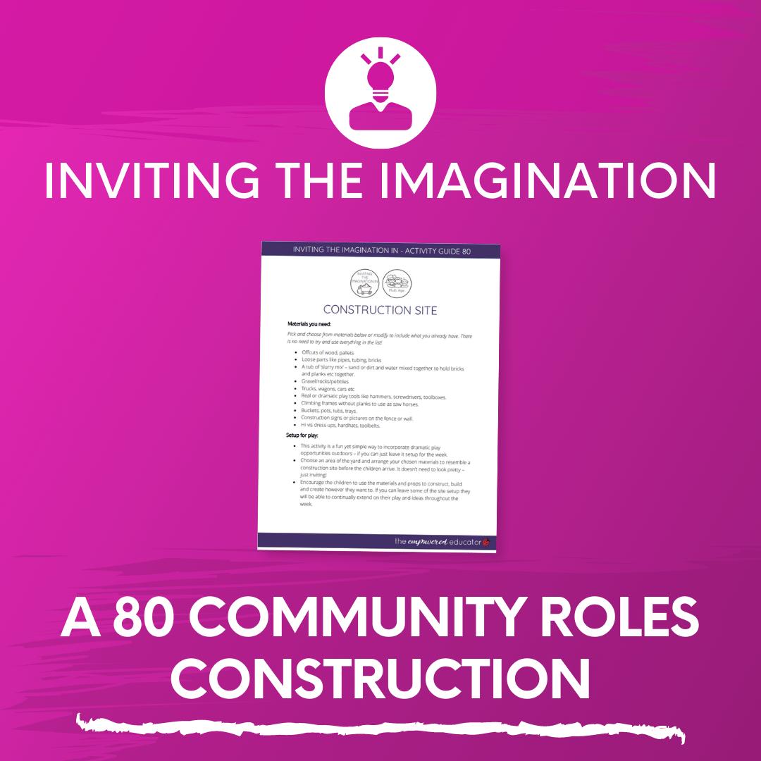 A 80 Community Roles Construction