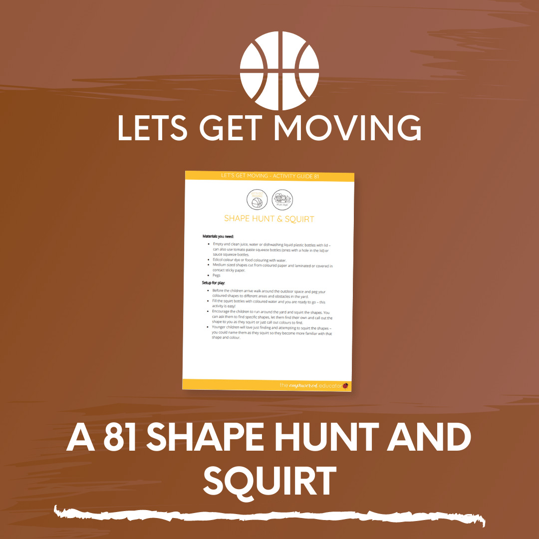 A 81 Shape Hunt and Squirt