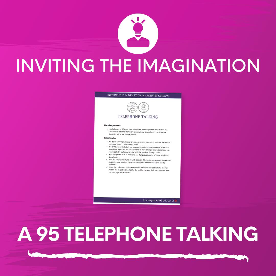 A 95 Telephone Talking