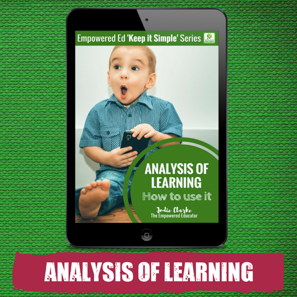 ANALYSIS OF LEARNING