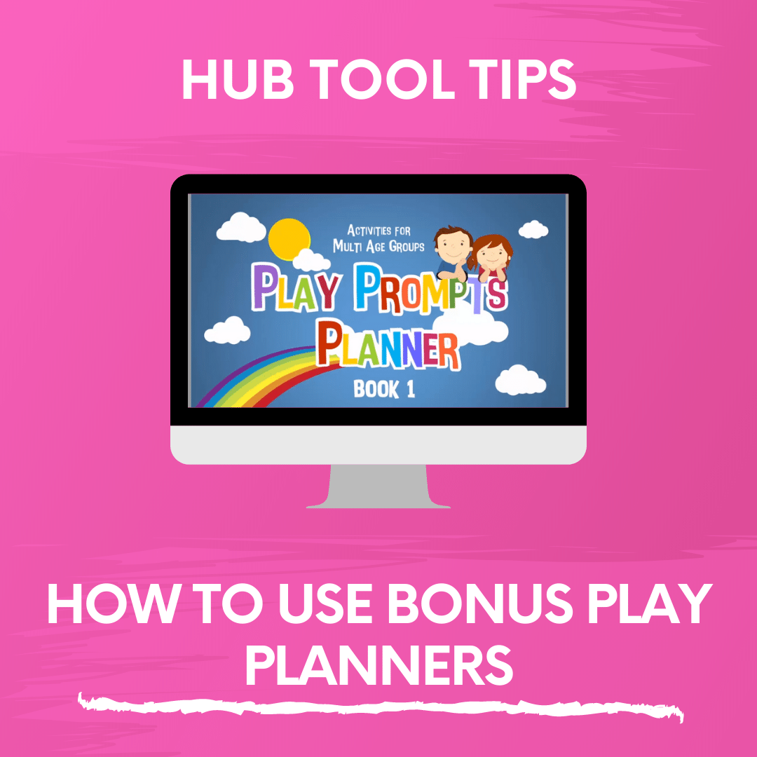HOW TO USE BONUS PLAY PLANNERS