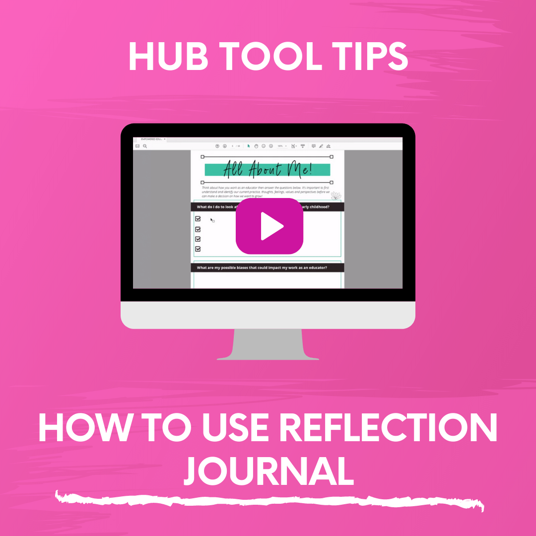 HOW TO USE REFLECTION JOURNAL