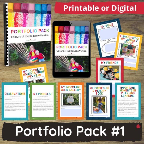Porftfolio Pack #1 Digital or Printable