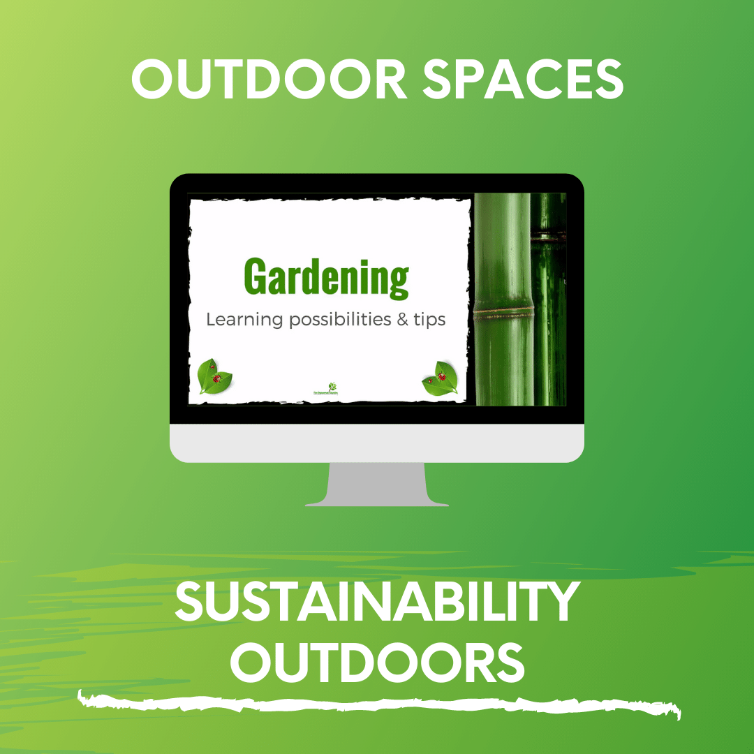 SUSTAINABILITY OUTDOORS