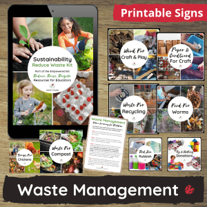 Waste Management Printable Signs